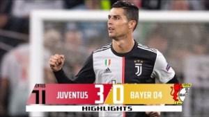 Juventus vs Bayer Leverkusen  3  -  0 | UCL All Goals & Highlights | 01-10-2019